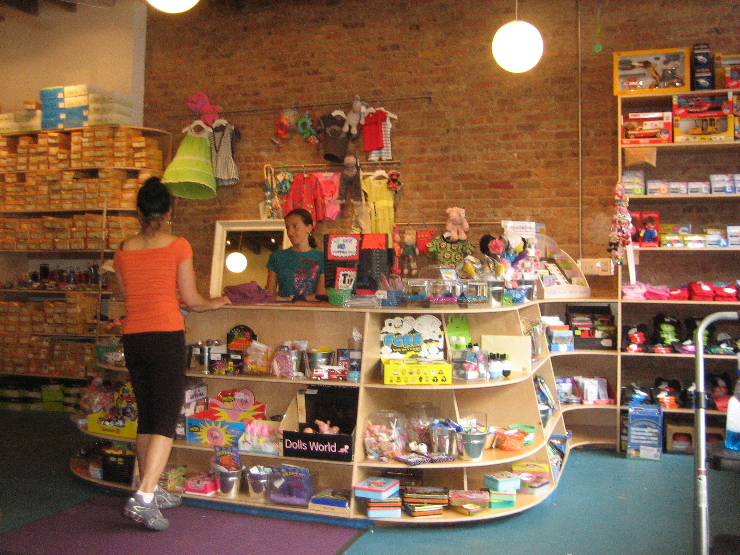 Toy stores need a small business loan to get tax dollars