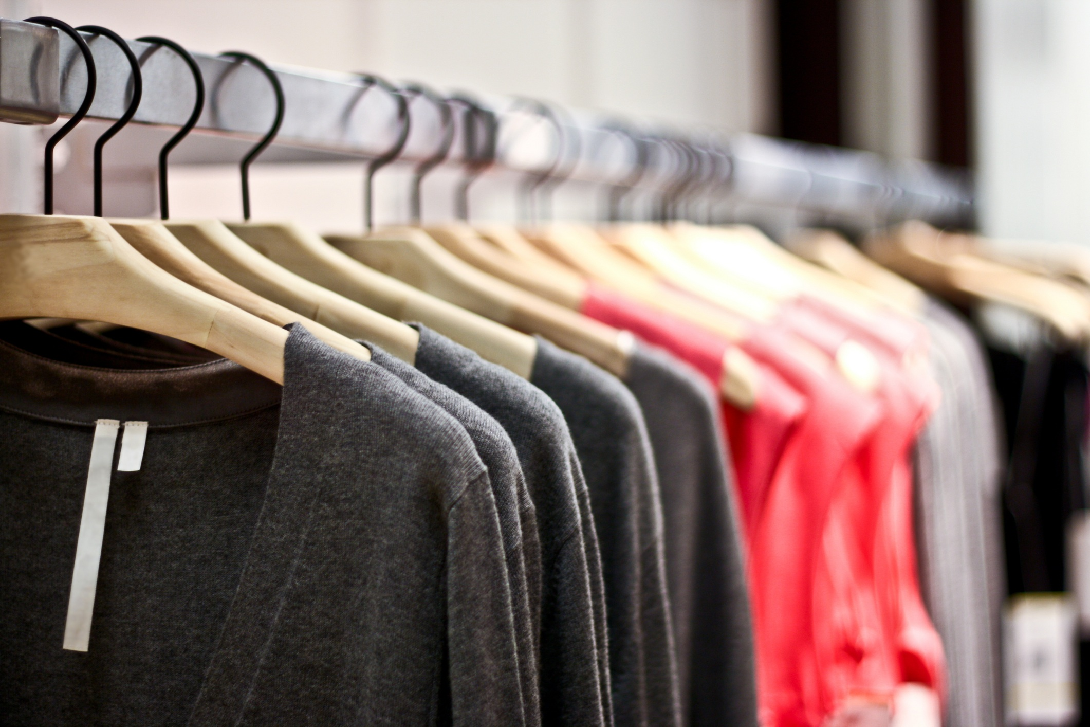 Apparel in the top list for imported goods in the US
