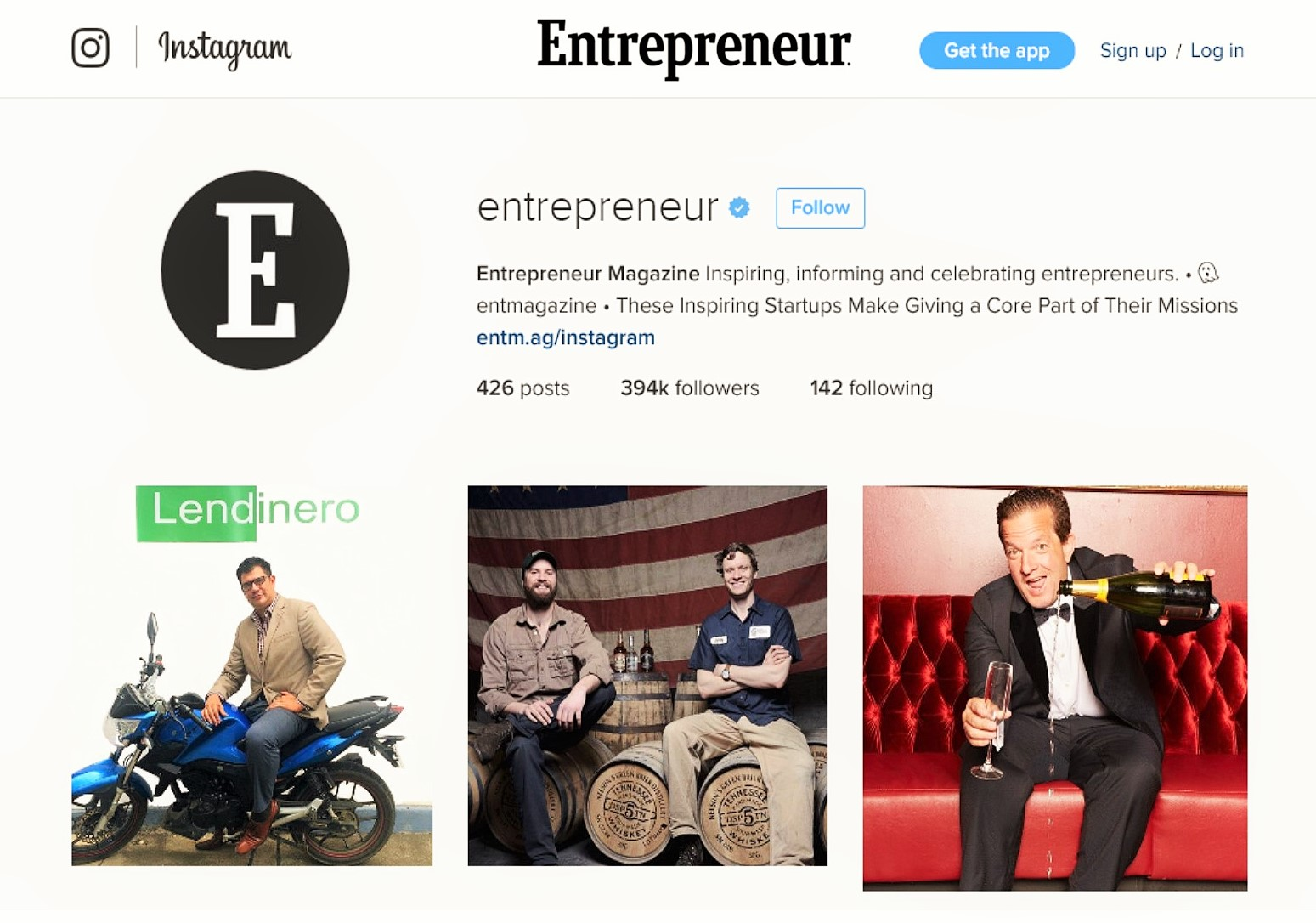 Gil on Entrepreneur Magazine