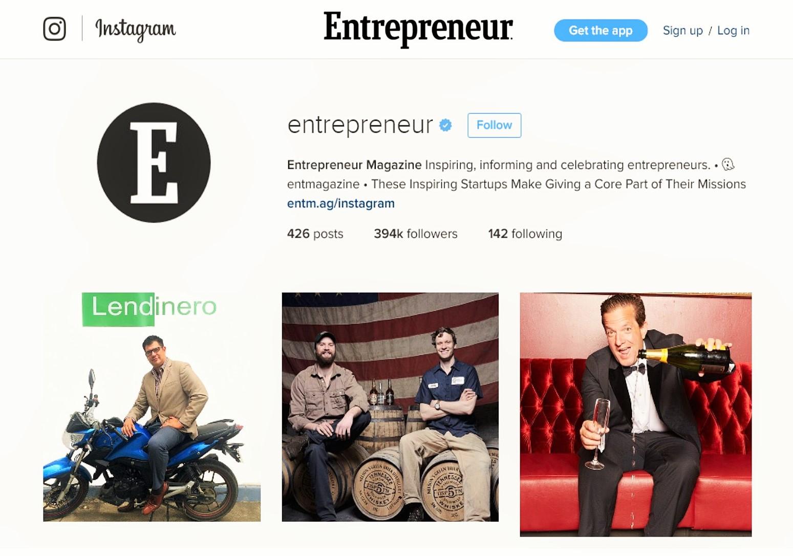 Gil on Entrepreneur Magazine