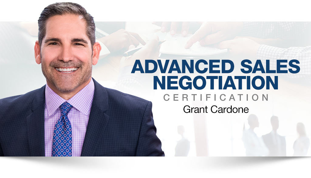 Grant Cardone Training; What would he say about training?